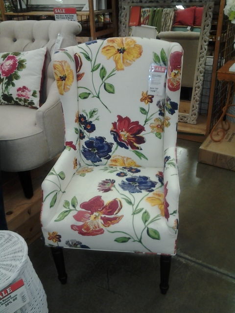 World Market Wingback