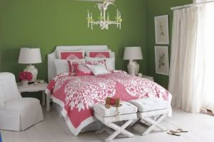 Lillypulitzergreenbedroom
