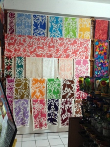 "Here is one display. You could buy runners, pillows, or ""table cloths"" pre-made. Honestly, I'd love to use a table cloth as a quilt!"