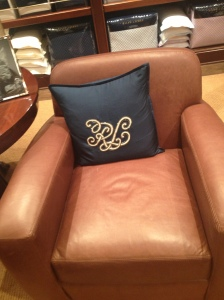 Leather, monogram, and glitter. Need I say more?