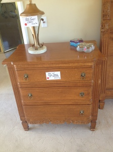 I liked this nightstand.
