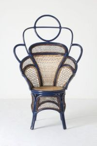 The boline chair from Anthropologie reminds me of a throne. Fit for a boho queen.