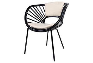 Love the funky shape of this chair!