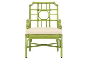 Loving this faux bamboo look that is taking over right now! This would be perfect in hot pink!