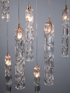 I came across these lights on Pinterest. Love how they look like icicles! Kinda magical.