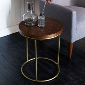 I'm loving this fun side table from West Elm.