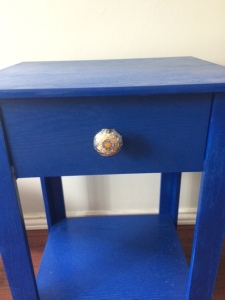 The second knob was much better!