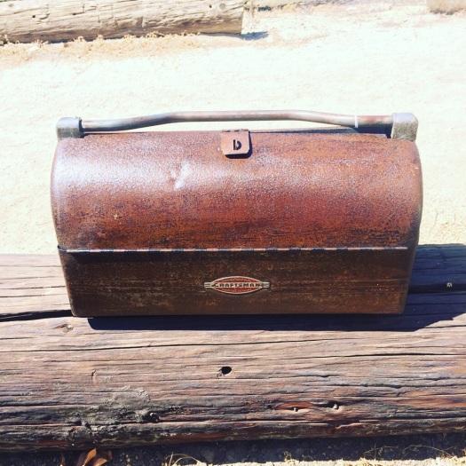 Vintage Craftsman Toolbox