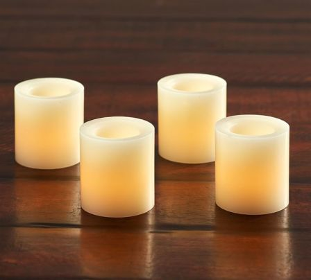 Pottery barn flameless candles